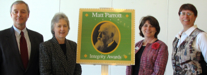 '08 Integrity Award Recipients