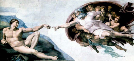 Michelangelo, Sistine, Creation of Adam