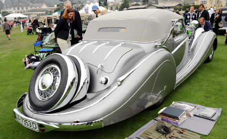 1937 horch 853 best of show pebble beach