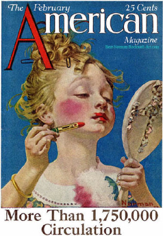 1922-02-The-American-Norman-Rockwell-cover-Little-Girl-with-Lipstick-400-Digimarc