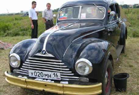 1940 bmw in russia
