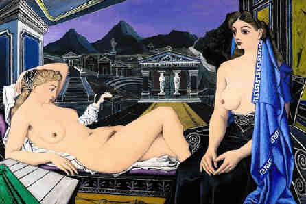 Paul Delvaux The Caryatids $9 million