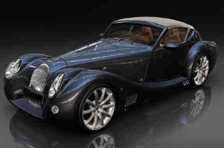 Rr Morgan Aero electric concept car