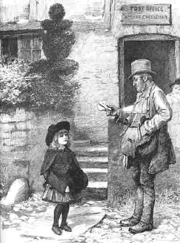 Post-office-postman.-valentines.old-antique-print