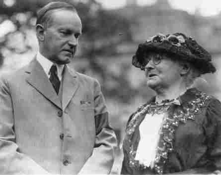 Mother_jones_calvin_coolidge_1924a