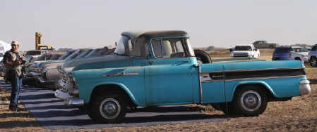 1958-chevrolet-cameo 1` mi on odometer