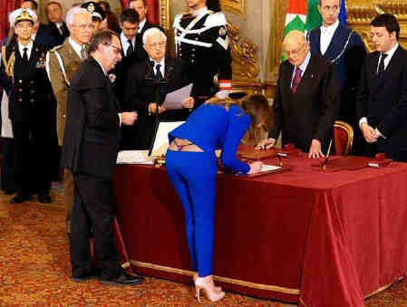 New italian min of parl relations rr
