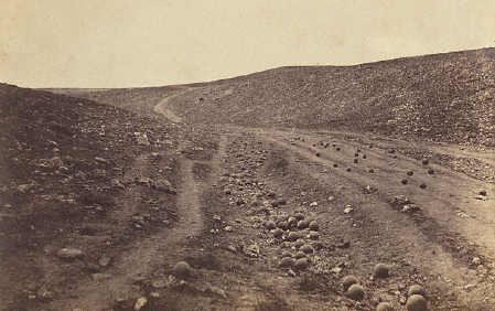 1855 valley of shadow of death crimea