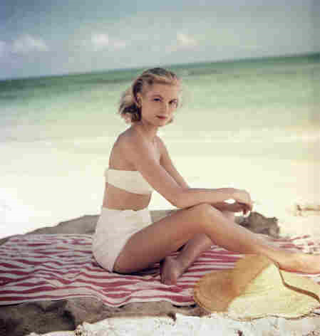 1954 grace kelly in jamaca