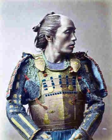 1881 samural warrior