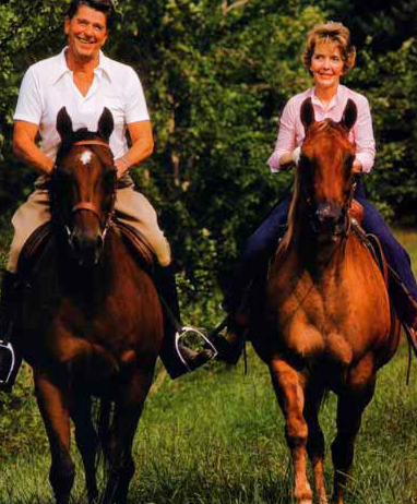 Reagans-on-horseback01
