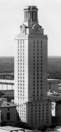The_Tower _University_of_Texas_at_Austin_(ca_1980)