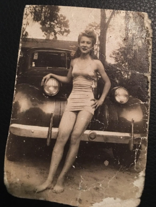 When grandma was only 17