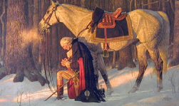 Washington_at_valley_forge